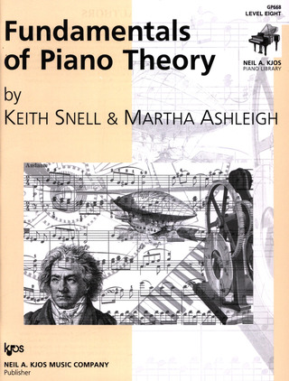 Keith Porter-Snell: Fundamentals of Piano Theory 8