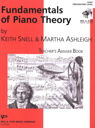 Keith Porter-Snell: Fundamentals of Piano Theory Preparatory
