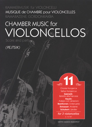 Chamber Music for Violoncellos 11