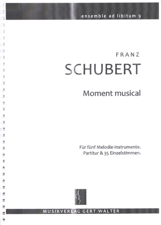 Franz Schubert: Moment Musical
