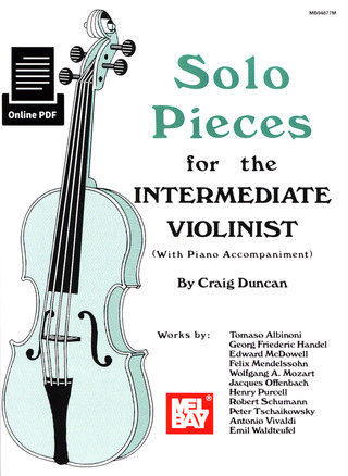 Craig Duncan: Solo Pieces For The Intermediate Violinist