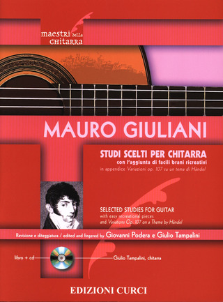 Mauro Giuliani: Selected Studies