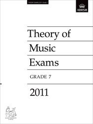 ABRSM Theory Of Music Exams 2011: Test Paper - Grade 7