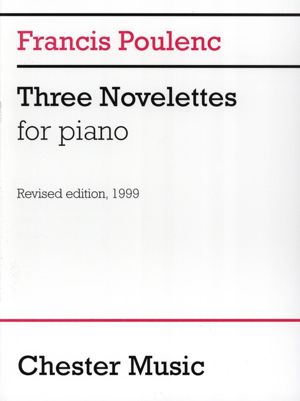 Francis Poulenc: 3 Novelettes For Piano (0)