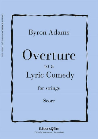 Bryan Adams: Overture To A Lyric Comedy (2003)