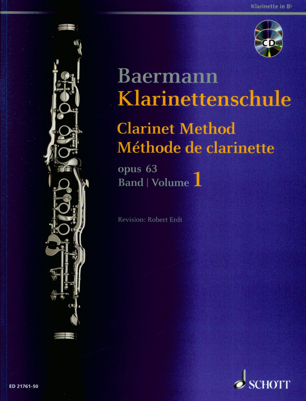 Carl Baermann: Klarinettenschule 1
