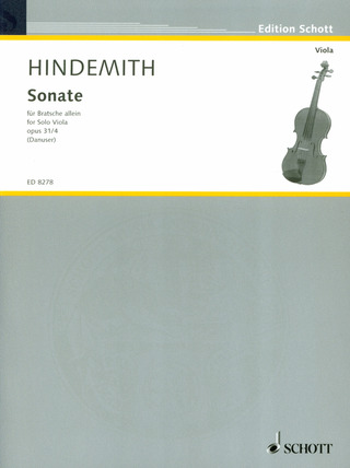 Paul Hindemith: Sonate op. 31/4 (1923)