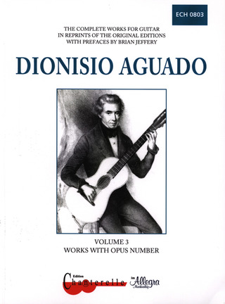 Dionisio Aguado: Complete Guitar Works 3