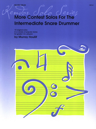 Murray Houllif: More Contest Solos For The Intermediate Snare Drummer