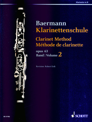 Carl Baermann: Klarinettenschule 2