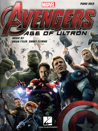 Danny Elfmann: Avengers Age Of Ultron Pf Solo Songbook Bk