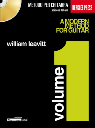 William Leavitt: Metodo moderno per chitarra 1
