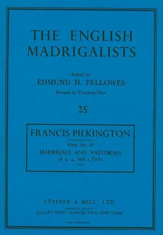 Francis Pilkington: First Set of Madrigals