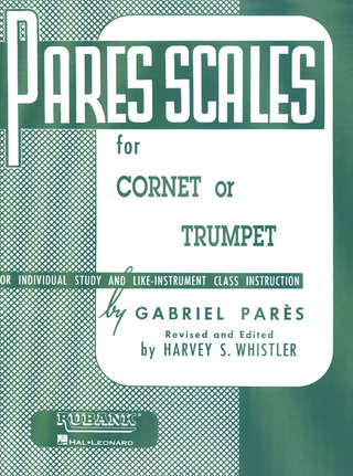 Pares Gabriel: Pares Scales For Cornet Or Trumpet