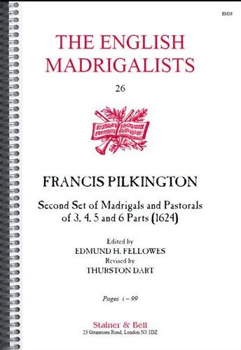 Francis Pilkington: Second Set of Madrigals