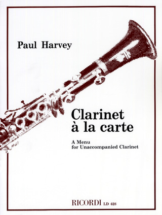 Paul Harvey: Clarinet à la Carte