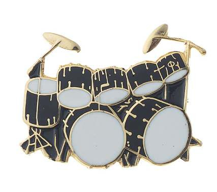 Mini Pin – Double Bass Drum Set