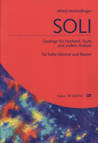 Alfred Hochedlinger: Soli – hohe Stimme