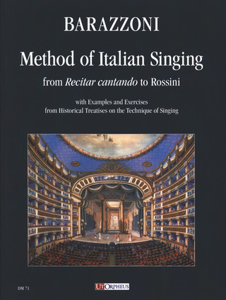 Maurizia Barazzoni: Method of Italian Singing