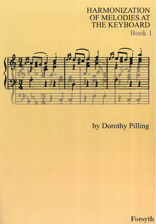 Pilling Dorothy: Harmonization Of Melodies At The Keyboard 1