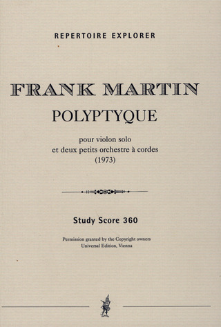 Frank Martin: Polyptyque