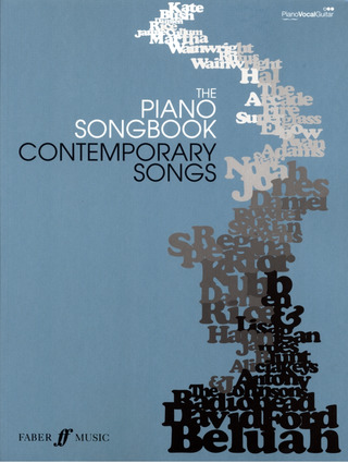 The Piano Songbook - Contemporary Songs Pvg