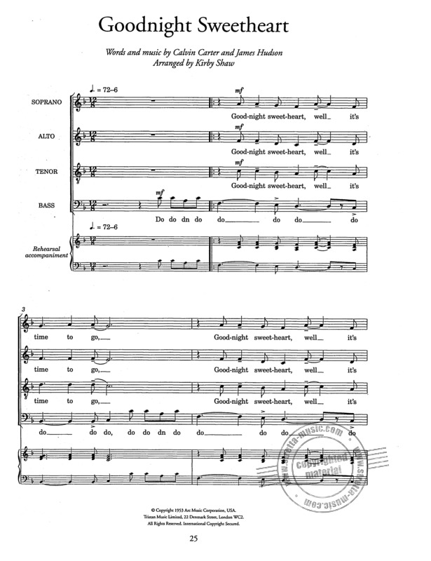 Allwood Ralph: By Popular Request Satb/Piano (Allwood) (2)