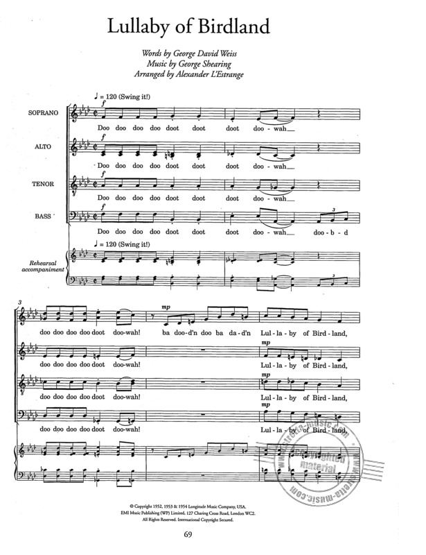 Allwood Ralph: By Popular Request Satb/Piano (Allwood) (3)