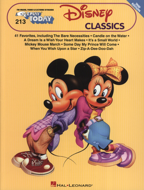 E-Z Play Today 213: The Big Book Of Disney Songs