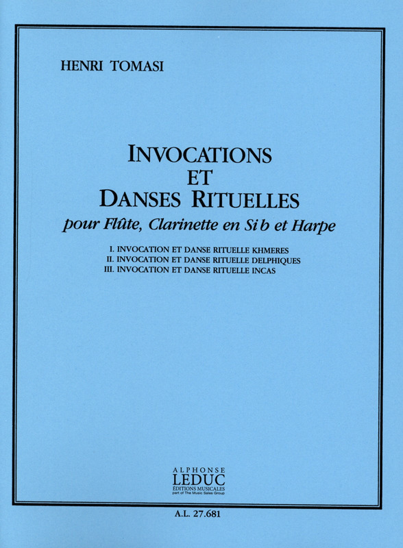 Henri Tomasi: Invocations Et Danses