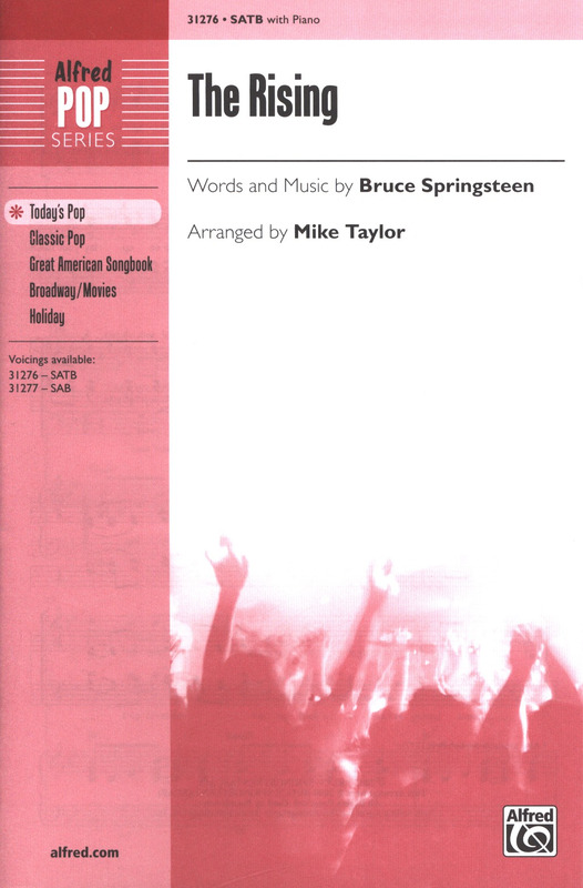 Rising 31276 ALFRED The SATB; Springsteen Mixed voices