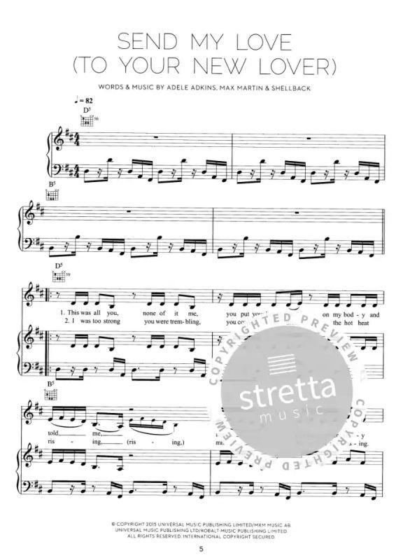 Vocal /& Guitar Sheet Music Album Songbook Adele 21 Piano