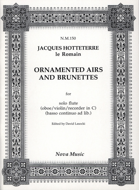 Jacques-Martin Hotteterre: Ornamented Airs and Brunettes (0)