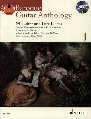 Jens Franke: Baroque Guitar Anthology 1