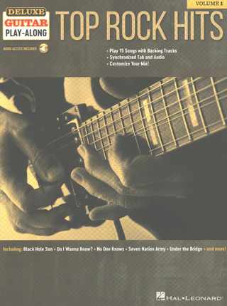 Deluxe Guitar Play-Along 1: Top Rock Hits