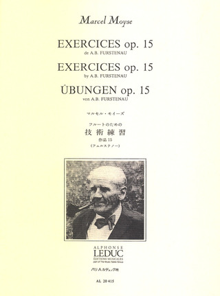 Marcel Moyse: Exercices op. 15