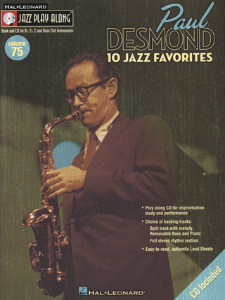 Paul Desmond: 10 Jazz Favorites