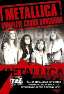 Metallica: Complete Chord Songbook