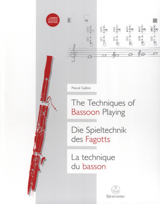 Pascal Gallois: The Techniques of Bassoon Playing