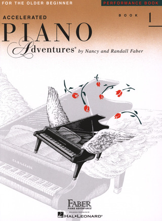 Randall Faber y otros.: Accelerated Piano Adventures 1 –  Performance