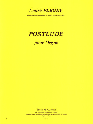 André Fleury: Postlude