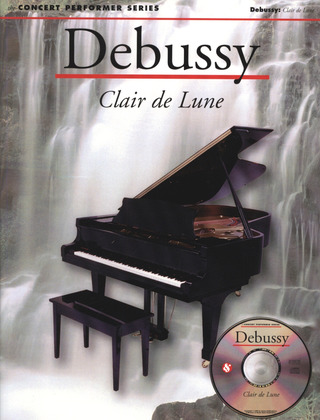Claude Debussy: Debussy Clair De Lune Pf (Cps) Pf Book/Cd-Rom