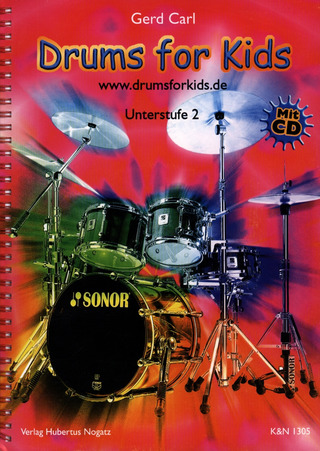 Carl Gerd: Drums For Kids 2