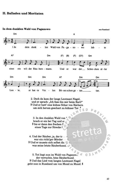 Schul Liederbuch Von Gottschalk Lutz Sell Im Stretta Noten
