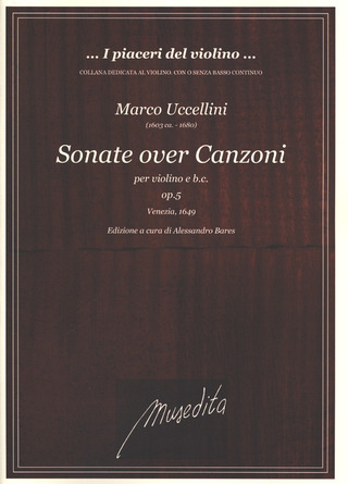 Marco Uccellini: Sonate over canzoni op. 5
