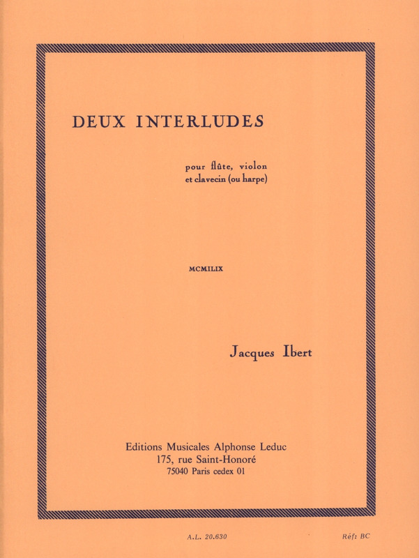 Jacques Ibert: 2 Interludes