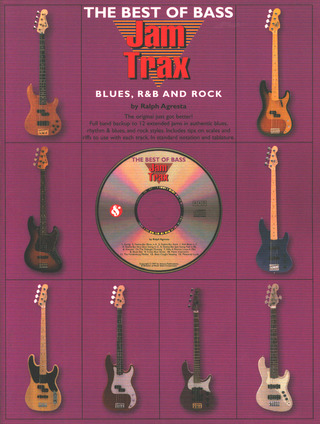Jam Trax The Best Of Bass Blues, R & B And Rock Bk/Cd