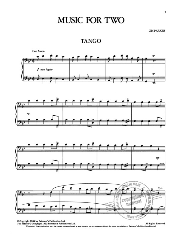 Charlie Parker: Parker Music For Two/Six Duets For Tenor And Bass Instruments (1)