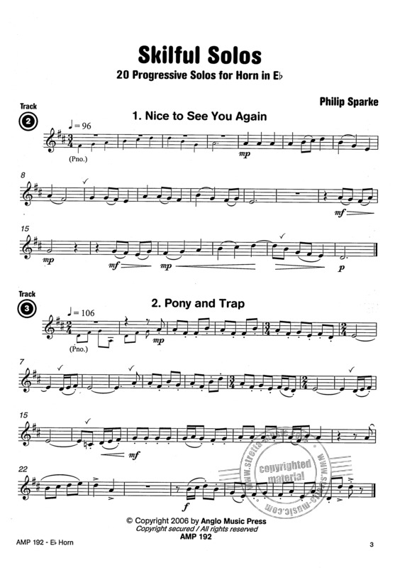 Philip Sparke: Skilful Solos - F/Es Horn (5)