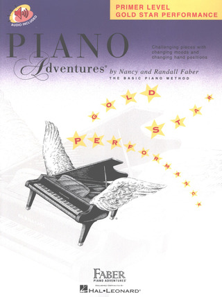 Randall Faber et al.: Piano Adventures Primer Level – Gold Star Performance